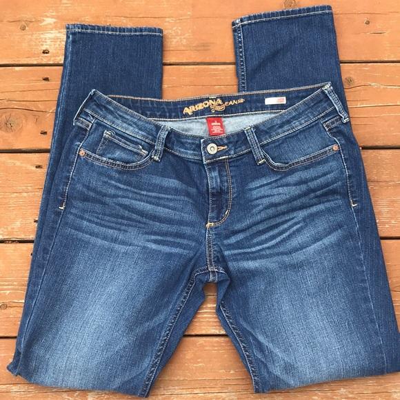 590129154e5 Arizona Jean Company Denim - Arizona Super Skinny Juniors Jeans sz 11  average